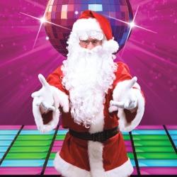 Dainuojantis Kalėdų senelis
