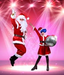 Kalėdų senelis ir Disko Nykštukė - 1